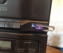 Как переделать музыкальный центр под USB