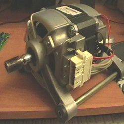 Куда можно приспособить двигатель от стиральной машины