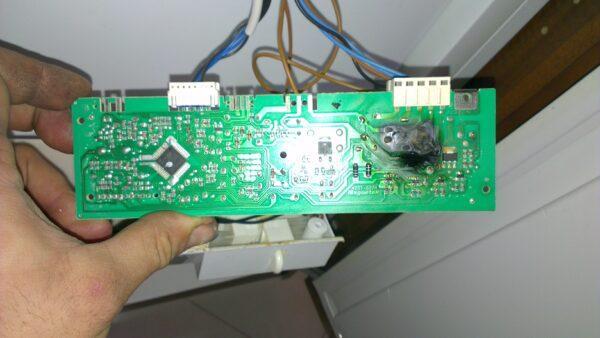 Сгоревший модуль управления стиральной машины