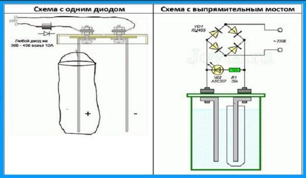 схемы создания активатора воды