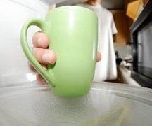 Чашка в СВЧ