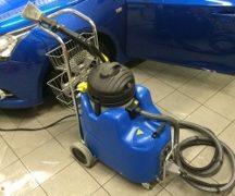 Очистка автомобиля парогенератором