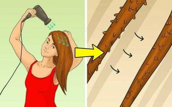 правильно сушить волосы феном