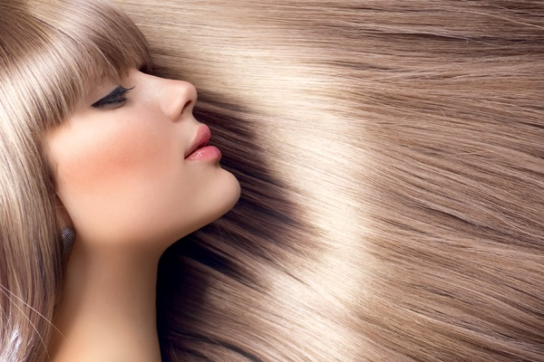 Красивые блестящие волосы