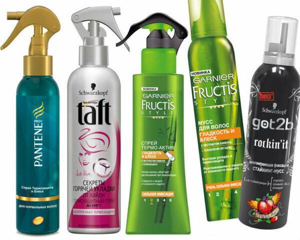 термозащитные спреи для волос