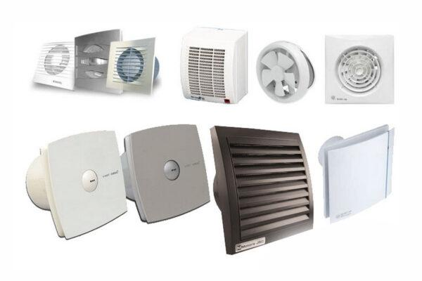 Различные модели вентиляторов