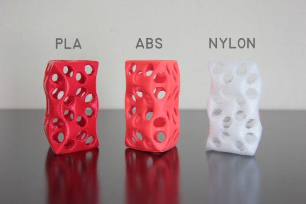 виды пластика для 3Д принтера