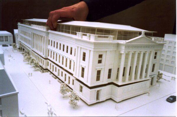 здание на 3д принтере