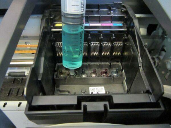 промывка печатающей головки