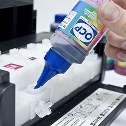 Как проверить уровень чернил в картридже принтера