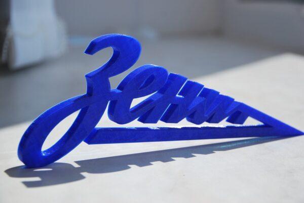 объемное лого на 3Д принтере