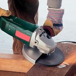 Насадки на болгарку для обработки древесины