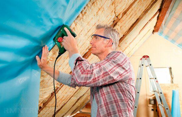 использование строительного степлера