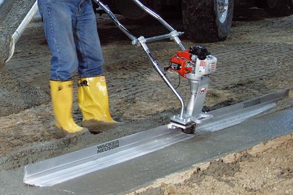 виброрейка бензиновая для укладки бетона купить
