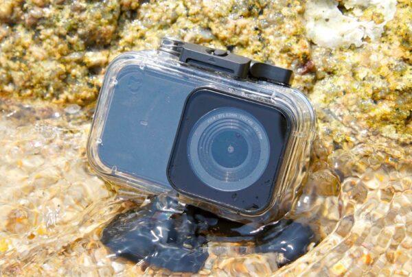 экшн камера в аквабоксе
