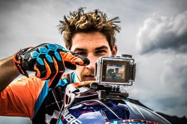 Экшн камера на мотоцикле