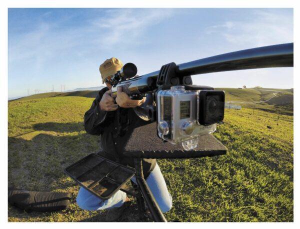 Экшн-камера на ружье