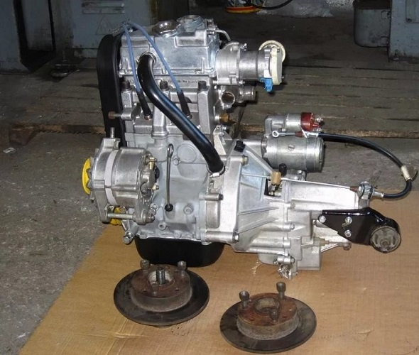 Двигатель Оки