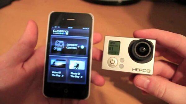 синхронизация экшн камеры со смартфоном