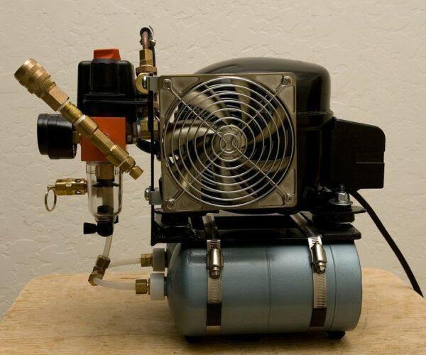 охлаждение воздушного компрессора