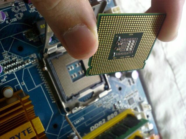 Процессор ноутбука