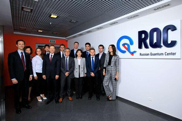 Российский квантовый центр и Nissan