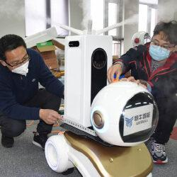 Новый робот-тепловизор позволит быстрее выявлять коронавирус