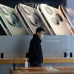 Компания Apple приостанавливает производство iPhone 12