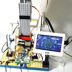 Ученые собрали микроскоп из Lego