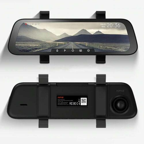 70mai Rearview Dash Cam Wide Stream Video