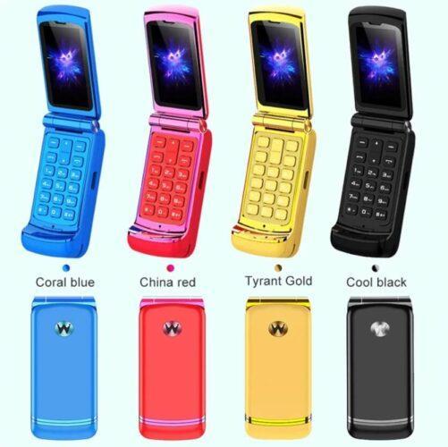 ULCOOL Mini Flip Phone