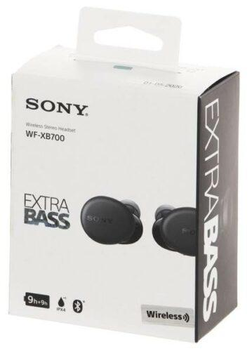 Sony WF-XB700, blue