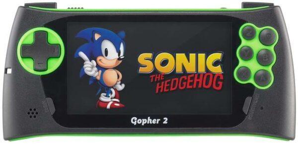 SEGA Genesis Gopher 2 (500 игр) синий