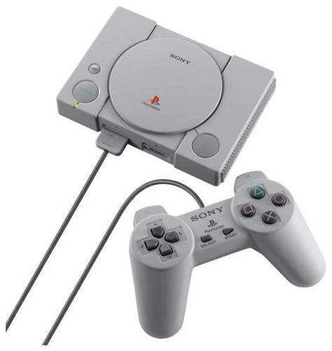 Sony PlayStation Classic, серый,