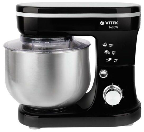 VITEK VT-1441, черный/серебристый