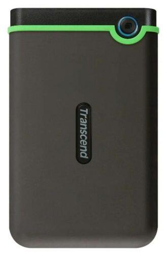 HDD Transcend StoreJet 25M3 1 ТБ, стальной серый
