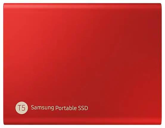 SSD Samsung Portable SSD T5 1 ТБ, черный