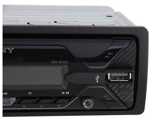 Sony DSX-A210UI, черный