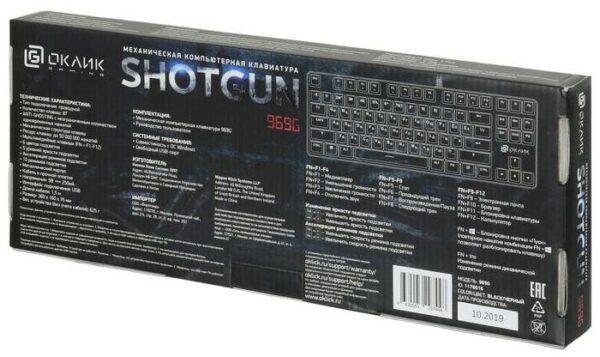 OKLICK 969G SHOTGUN Black USB