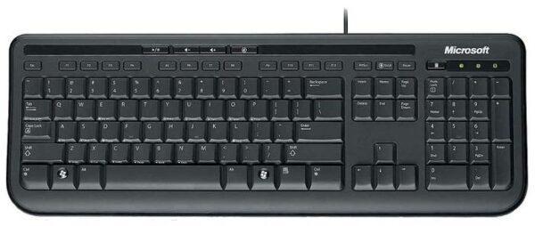 Microsoft Wired Keyboard 600 Black USB