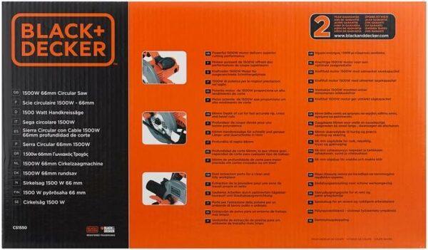 BLACK+DECKER CS1550, 1500 Вт