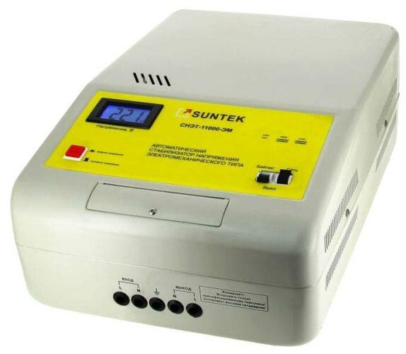 SUNTEK СНЭТ-11000-ЭМ белый/желтый