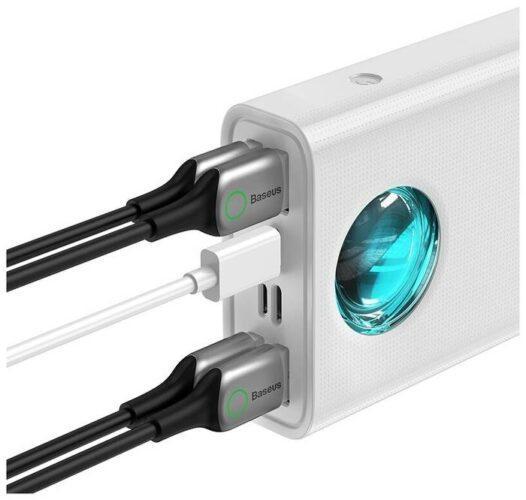 Baseus Amblight Quick Charge 65W, 30000 mAh