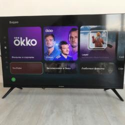 Обзор смарт телевизора HYUNDAI H-LED43FU7004 на ОС Салют ТВ от Сбера