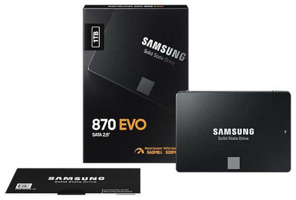 Samsung 870 EVO 1000 GB MZ-77E1T0BW