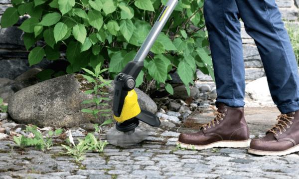 Новый аккумуляторный аппарат для удаления сорняков  WRE 18-55 от Kärcher